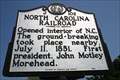 Image for North Carolina Railroad, Marker J-102