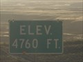 Image for I-70 Utah-Colorado Border - 4760 Feet