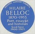 Image for Hilaire Belloc - Cheyne Walk, London, UK