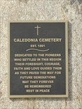 Image for MHM Caledonia Cemetery - Rosewood MB