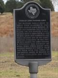 Image for El Camino Real de los Tejas -- McGeehee Cabin Historical Marker, Hays Co. TX