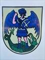 Image for Blason d'Appenweier, borne de jumelage - Montlouis-sur-Loire, France