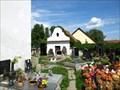 Image for hrbitov u kostela sv. Jana Evangelisty pred branou Latinskou Dlouhá Lhota, Czech reoublic