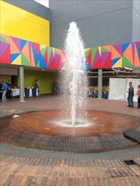 Unicentro Mall Fountain, View 3, Medellin, Colombia