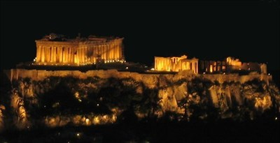 The Acropolis night.