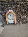 Image for Entrance to the fish and chips fairy, Penpol Terrace Hayle Cornwall UK