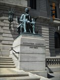 Image for Alexander Hamilton, Cuyahoga County Court House, Cleveland, Ohio