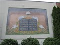 Image for Ten Commandments Tablets Mosaic – Millville, New Jersey