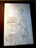 Image for LAST - Relief Sculpture By Augustus Saint-Gaudens - Cornish, NH