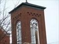 Image for Methodist Church Clock-Girard, PA