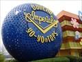 Image for Giant Duncan's YoYo - Pop Century Resort, Lake Buena Vista, FL. USA.
