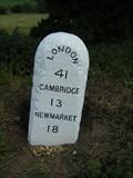 Image for Milestone - B1383, Littlebury, Essex, UK