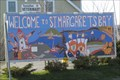 Image for Welcome to St Margaret's Bay Cutout - Upper Tantallon, Nova Scotia