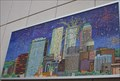 Image for Downtown Tulsa and Fireworks Mosaic -- Tulsa OK