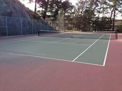 Douglass Park Court, Looking Northwest, San Francisco, California