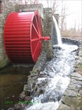 Image for Wayside Inn Grist Mill  Water Wheel - Sudbury, MA