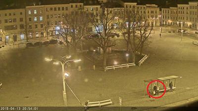 Jihlava - horní část Masarykova náměstí
