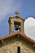 Image for Le clocher de l'église de Saint Alban- Saint Auban d'Oze- France