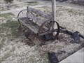 Image for Tractor Wheel Bench - Pineville MO
