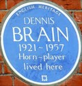 Image for Dennis Brain - Frognal, Hampstead, London, UK