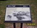 Image for Battery Huger marker at Fort Sumter / Battery Huger - Charleston, SC