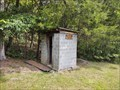 Image for Cinder Block Outhouse at Brick Church - Rye Cove, Virginia - USA.