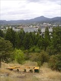 "Image for University of Oregon ""O"", Skinner Butte, Eugene Oregon"