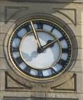 Image for Town Hall Clock, Wombwell, Barnsley,UK.