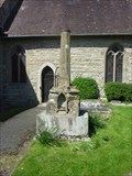 Image for Churchyard Cross, St. Denys', Severn Stoke, Worcestershire, England