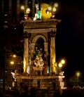 Image for Plaça d'Espanya Fountain at Night - Barcelona, Spain