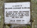 Image for Sir John Scurrah Randles - Keswick, Cumbria, UK.