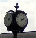 Image for Clock in front of the Whitaker Campus Center Hood College - Frederick MD