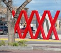 Image for Missoula's red X's sculpture to undergo restoration