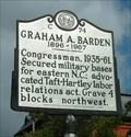 Image for Graham A. Barden,  Marker C-74