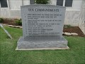 Image for The Ten Commandments (Exodus 20:1-17) - Marshall County Courthouse - Madill, OK