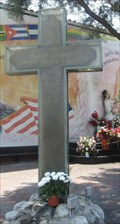 Image for  FIRST - Cross used at the entrance of Olvera St - Los Angeles, CA