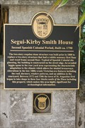 Image for Segui-Kirby Smith House-Second Spanish Colonial Period, Built ca. 1790
