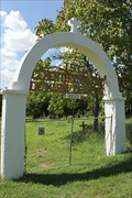 Image for Cementerio Mexicano de Maria de la Luz Arch -- Austin TX