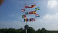 Image for Flags at the Nautical Flag Pole - Weißenthurm - RLP - Germany