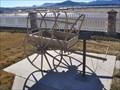 Image for Mormon Handcart ~ Enterprise, Utah, USA
