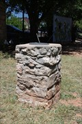 Image for Buffalo Gap Historic Village Sundial - Buffalo Gap, TX