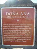 Image for Doña Ana (On the Camino Real)