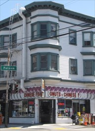Donuts & Chinese Food, San Francisco, California