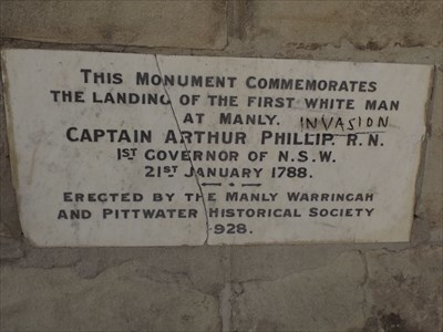 One of the plaques on the Monument.1923, Sunday, 4 February, 2018