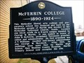 Image for McFerrin College