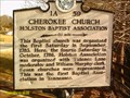 Image for Cherokee Church Holston Baptist Association-1A 59