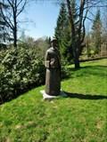 Image for Two Wooden Statues, Bedrichov, Czech Republic
