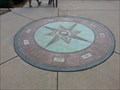 Image for Vista Park Compass Rose - Hillsborough, CA