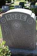Image for Edgar J. Rose -- Temple Emmanu-El Cemetery, Dallas TX