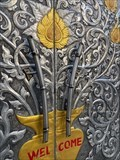 Image for Bamboo Door Handles at Thai Pavilion - National Harbor, Maryland